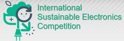 International Sustainable Electronics Competition Logo